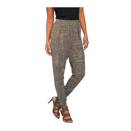 Lisa Rinna Collection Pull On Printed Knit Pants A274671