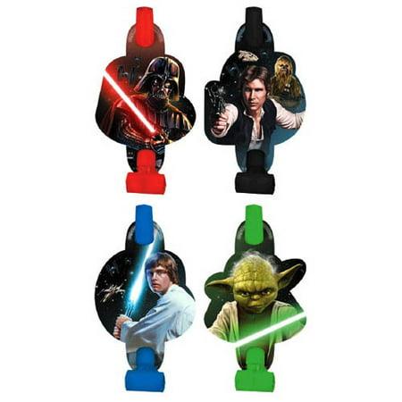 Star Wars 'Classic' Blowouts / Favors (8ct)