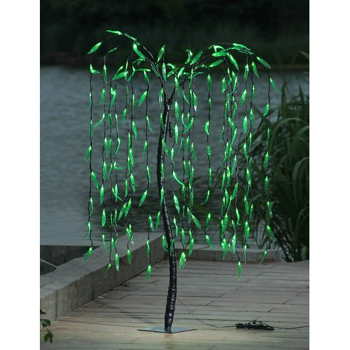 Lightshare 5.5FT Willow Tree with 200 Lights Green LED