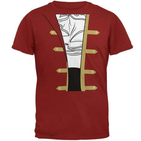 Halloween Spanish Pirate Costume Men Mens Soft T Shirt