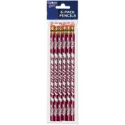 American Logo Products Eastern Kentucky Colonels Pencils, 6-Pack