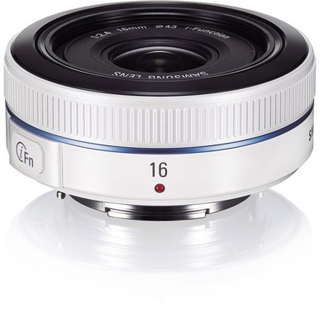 Samsung 16mm f2.4 Ultra Wide Zoom Lens For All NX Models, White