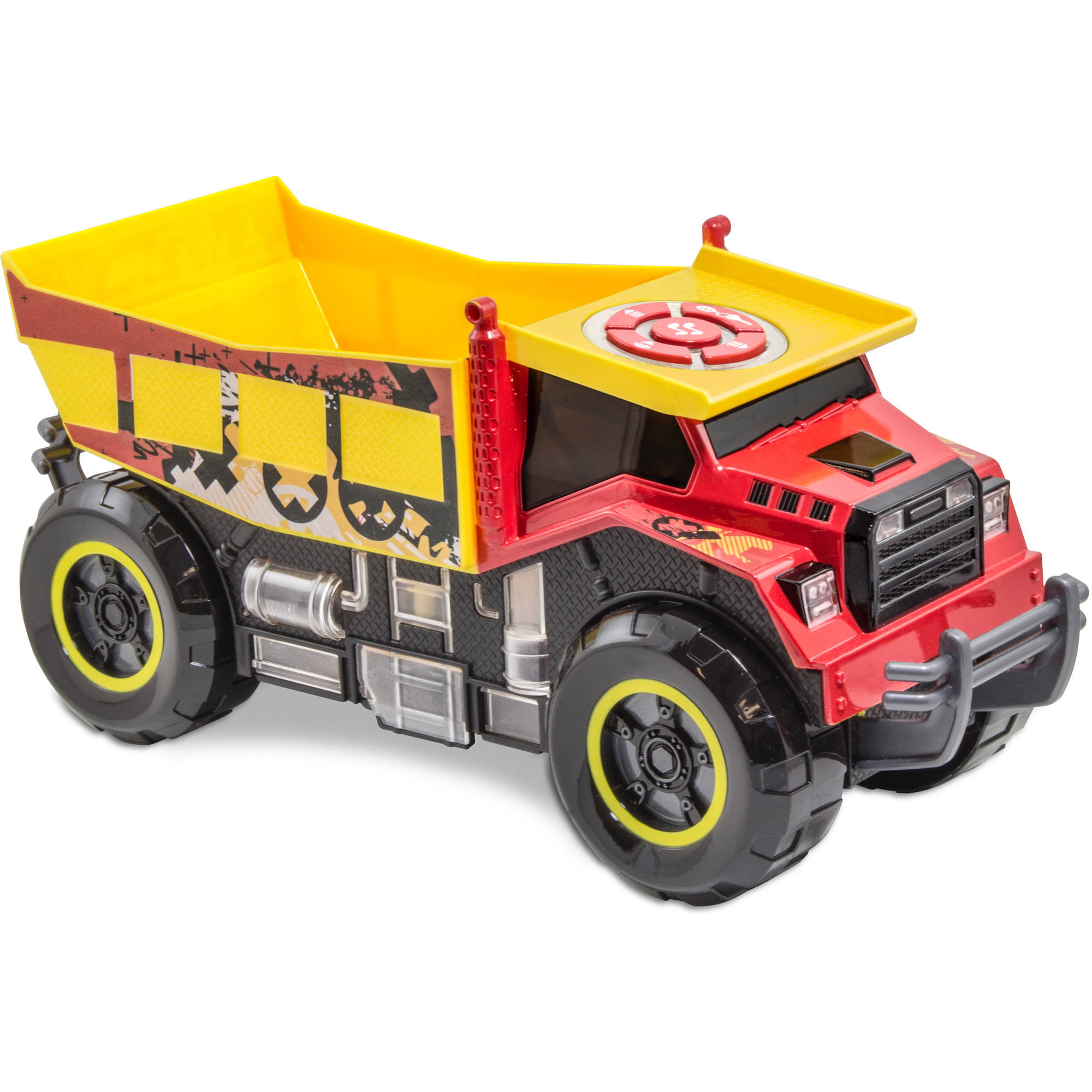 Kid Galaxy Dump Truck, Red by Kid Galaxy