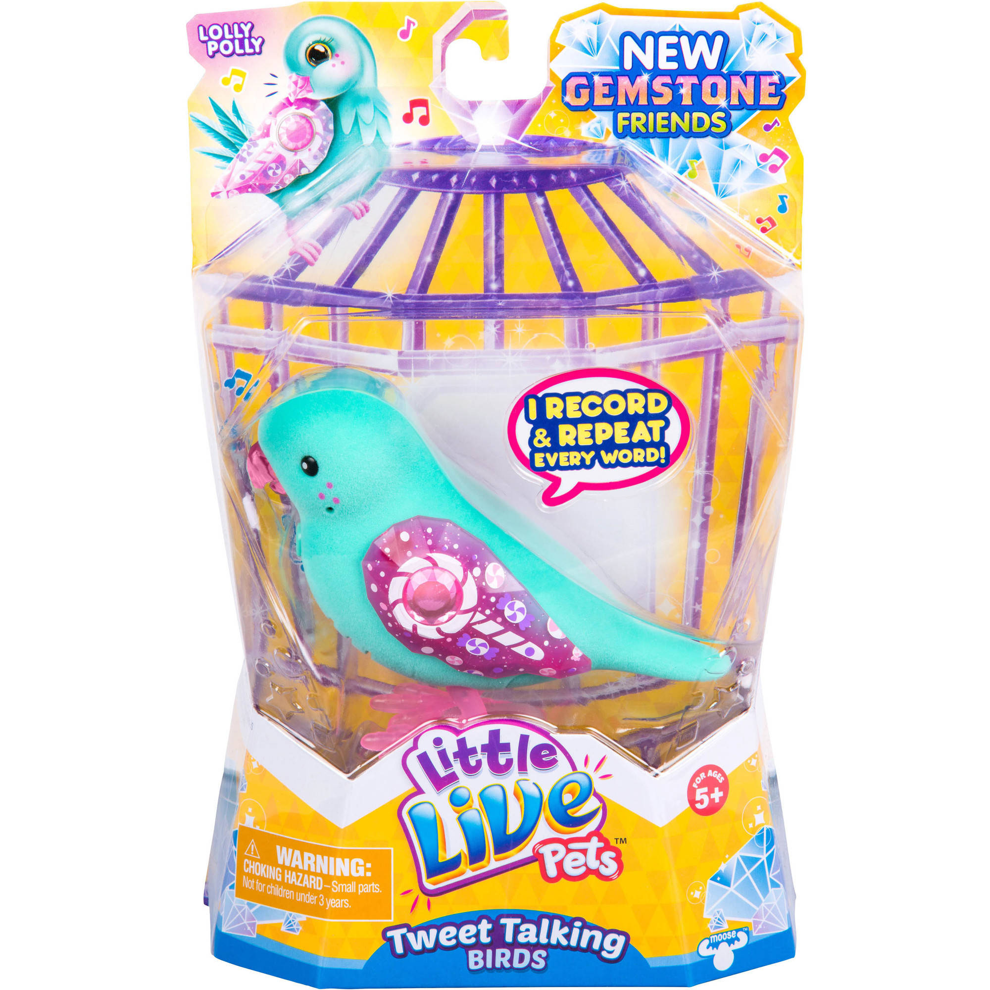 Little Live Pets S6 Bird Single, Lolly Polly