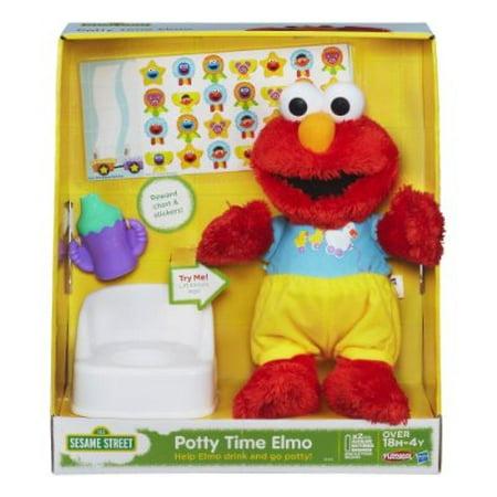 Sesame Street Bath Time Elmo Plush Toy Stofftiere