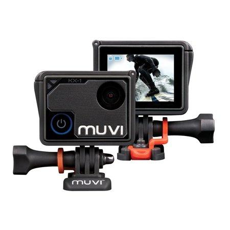 Veho Muvi KX-1 NPNG Action Camera | KX-Series | Handsfree Camcorder| WiFi | 8GB microSD Card | 4k Action Cam |12MP Photo | Waterproof Housing (Designer Series Camera Housings)