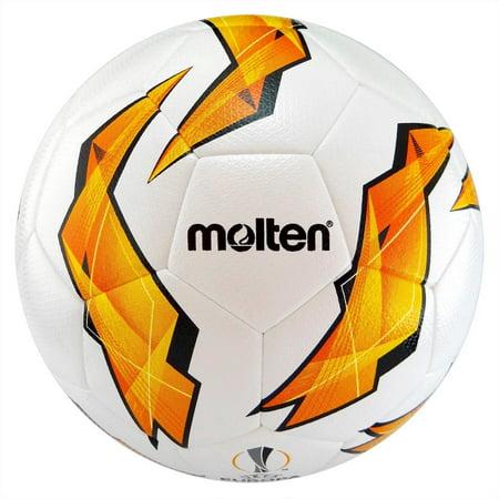 Molten Official Europa League Hybrid PU Soccer Ball Size 5 Premier League Soccer Ball