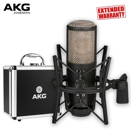 Large Diaphragm Multi Pattern Condenser (AKG Project Studio P420 Multi-Pattern Large-Diaphragm Condenser Microphone - Includes - 2-Year Extended Warranty)