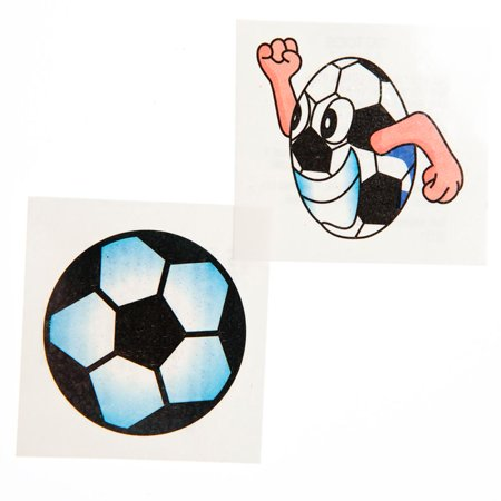 Glitter Soccer Tattoos](31 Dollar Halloween Tattoos)