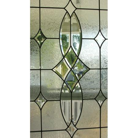 Peel N Stick Poster Of Leaded Glass Interior Window Glass Door Door