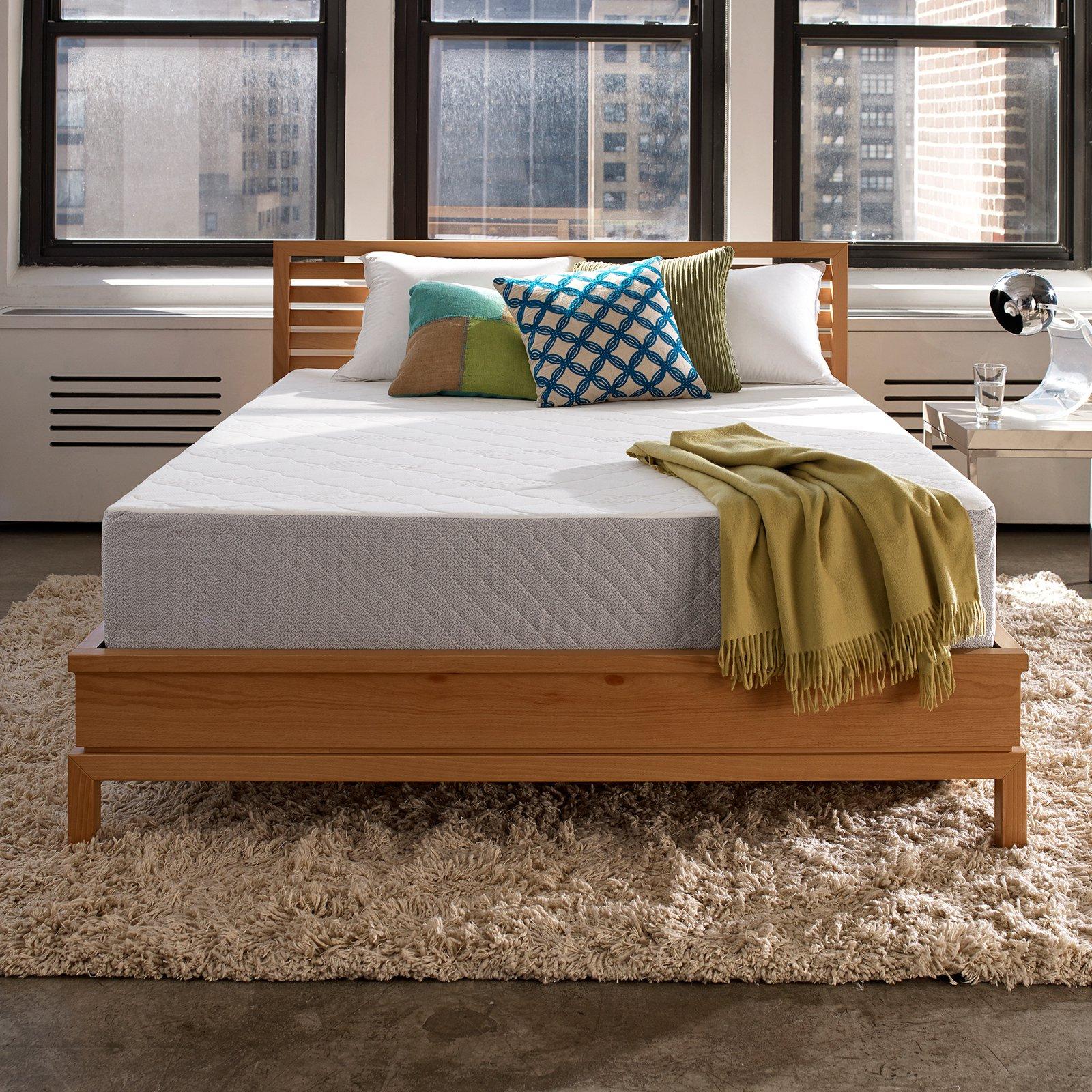 "Sleep Innovations Marley Gel Memory Foam Mattress, 10"""