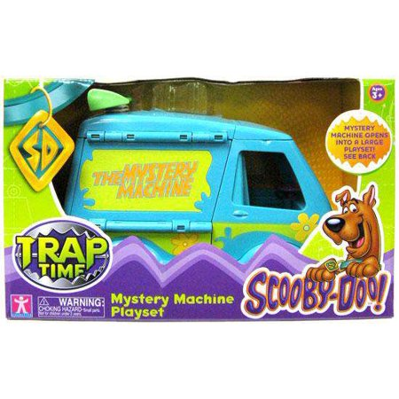 Scooby Doo Trap Time Mystery Machine Playset