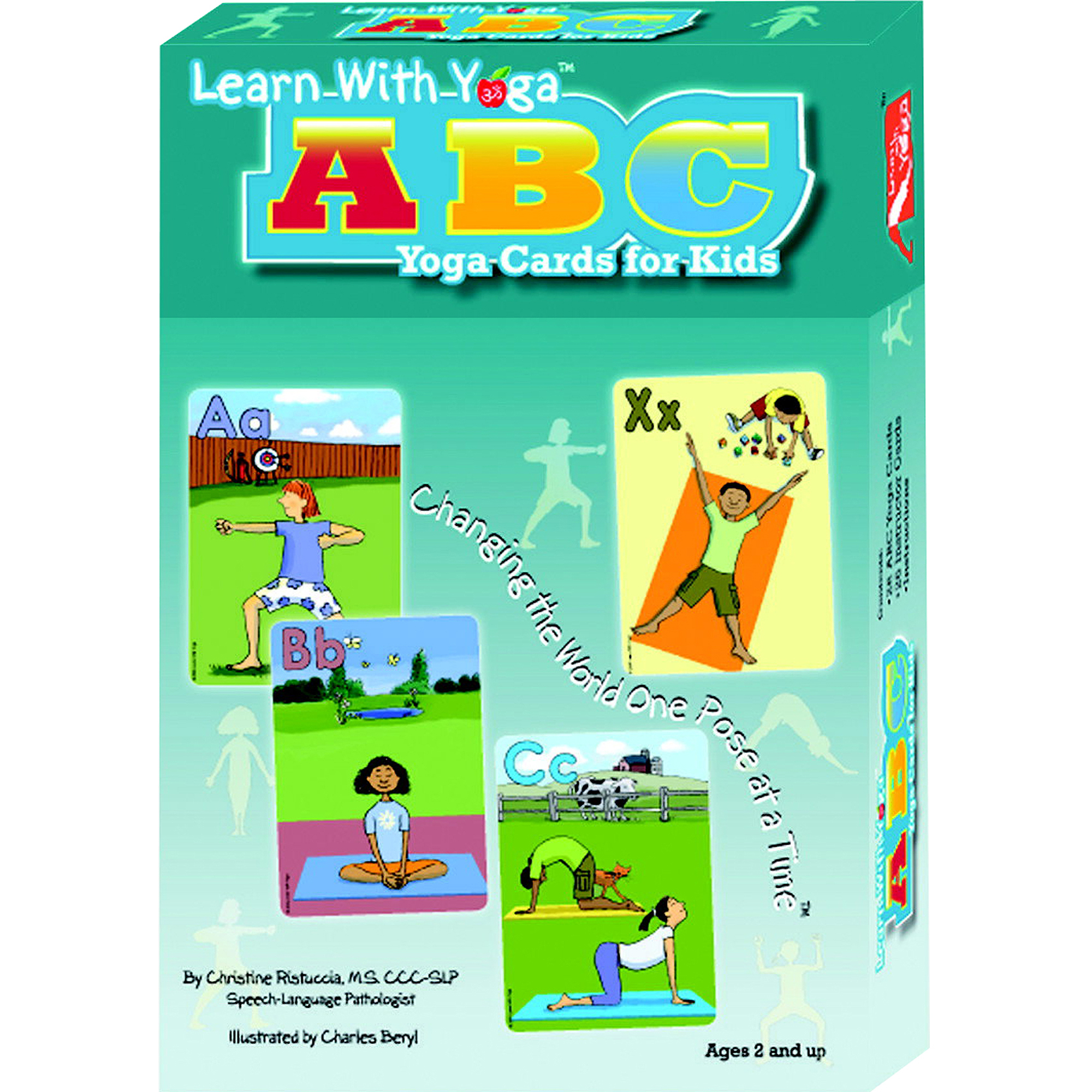 Say it Right Learn with Yoga ABC Cards For Kids