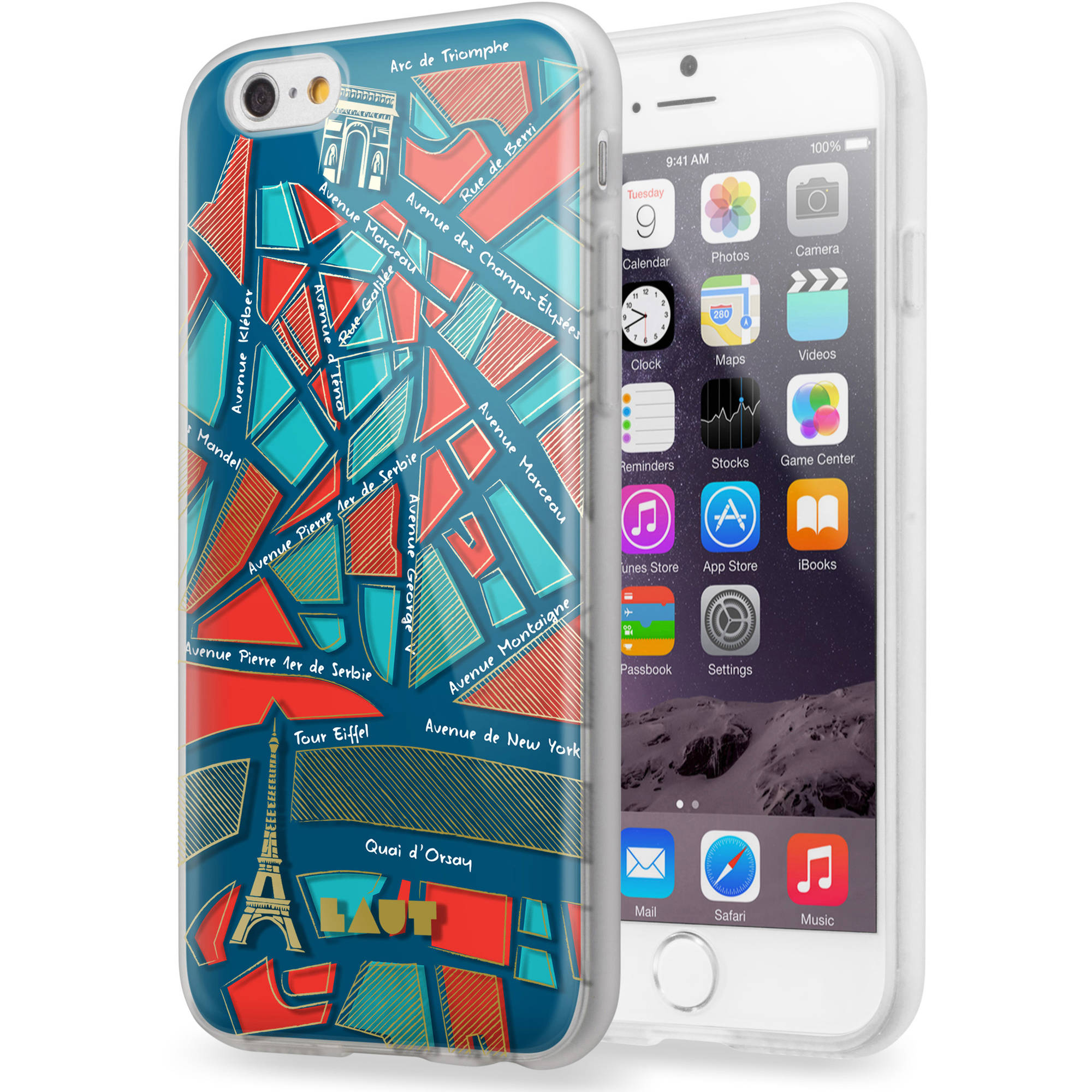 LAUT Nomad City Apple iPhone 6 & 6S Case