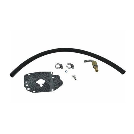 S&S Cycle 190-0005 Fuel Hose and Inlet Upgrade Kit for Early-Style S&S E and G Carburetors