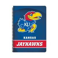 "NCAA Kansas Jayhawks Spiral Notebook, 5"" by 7"", 80 Sheets, College Rule"