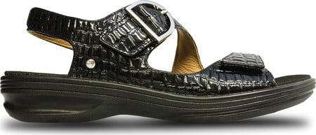 Women's Revere Strap Comfort Shoes Barcelona Quarter Strap Revere Sandal 4cb5f2