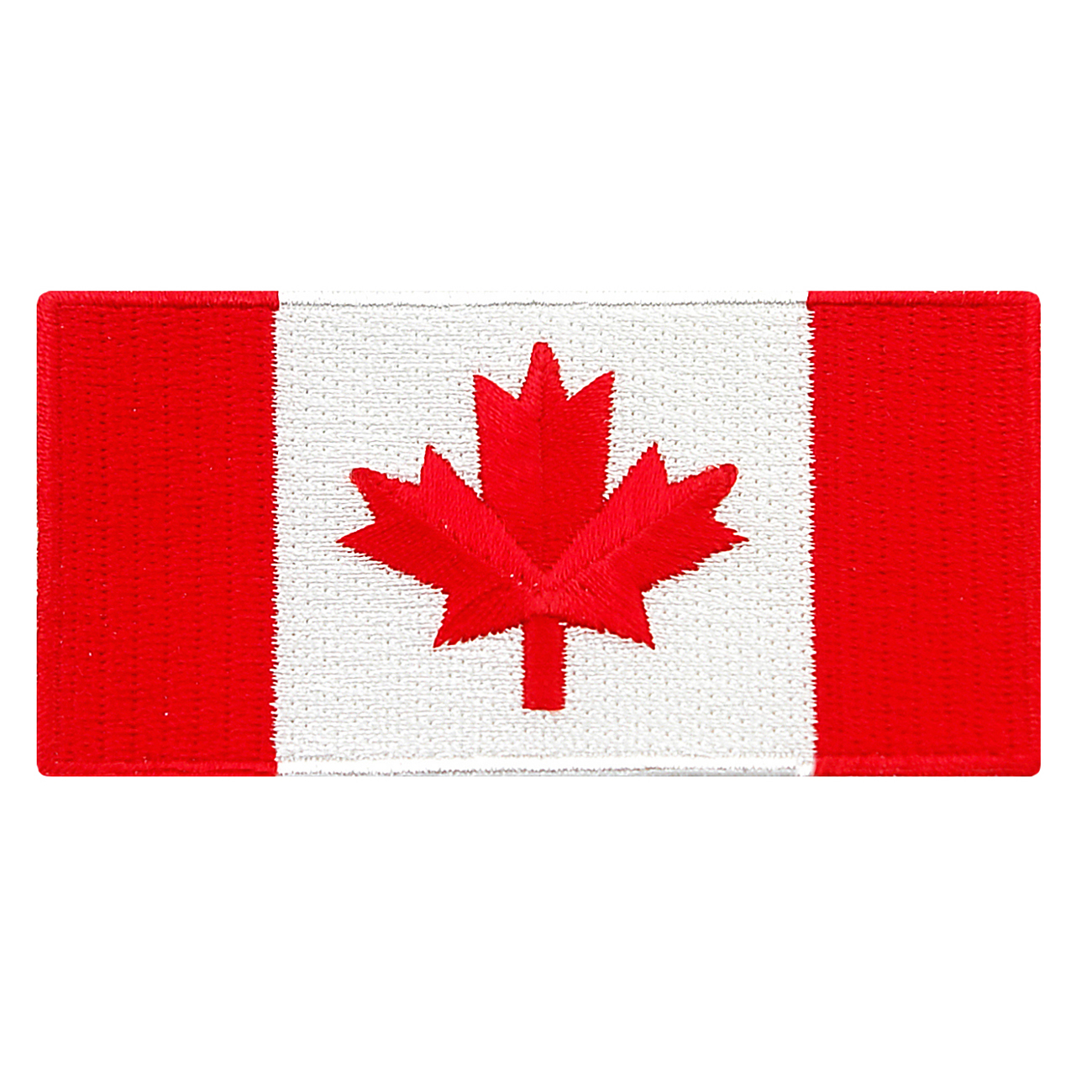 Canada Flag Embroidered Iron-on Patch
