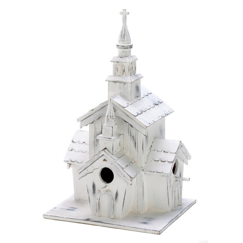 Zingz & Thingz Country Steeple 12.75 in x 6.5 in x 7 in Birdhouse by Zingz & Thingz
