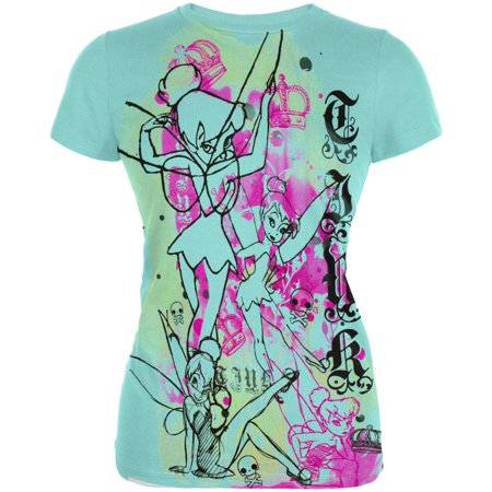Tinkerbell - Royalty Juniors T-Shirt - Tinkerbell Items For Adults