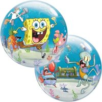 "Burton & Burton 22"" Spongebob & Bubble Balloon"