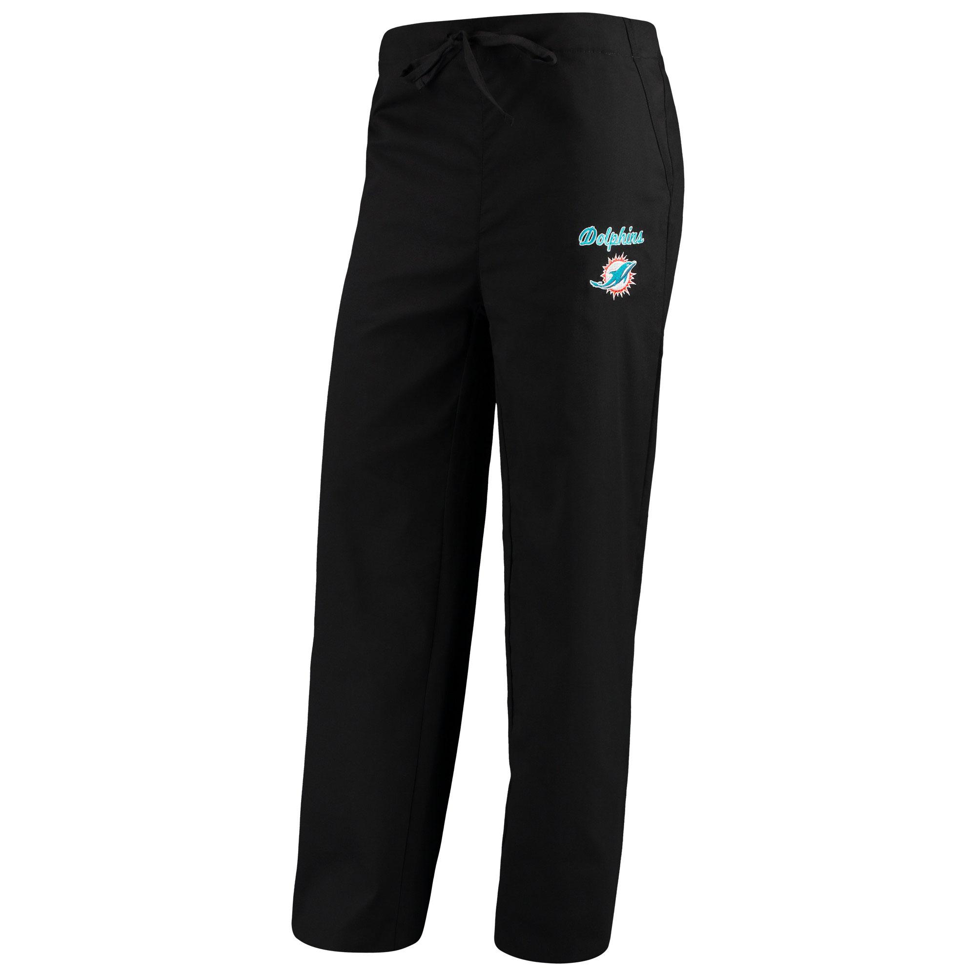 68959ce3 Miami Dolphins Concepts Sport Women's Scrub Pants - Black