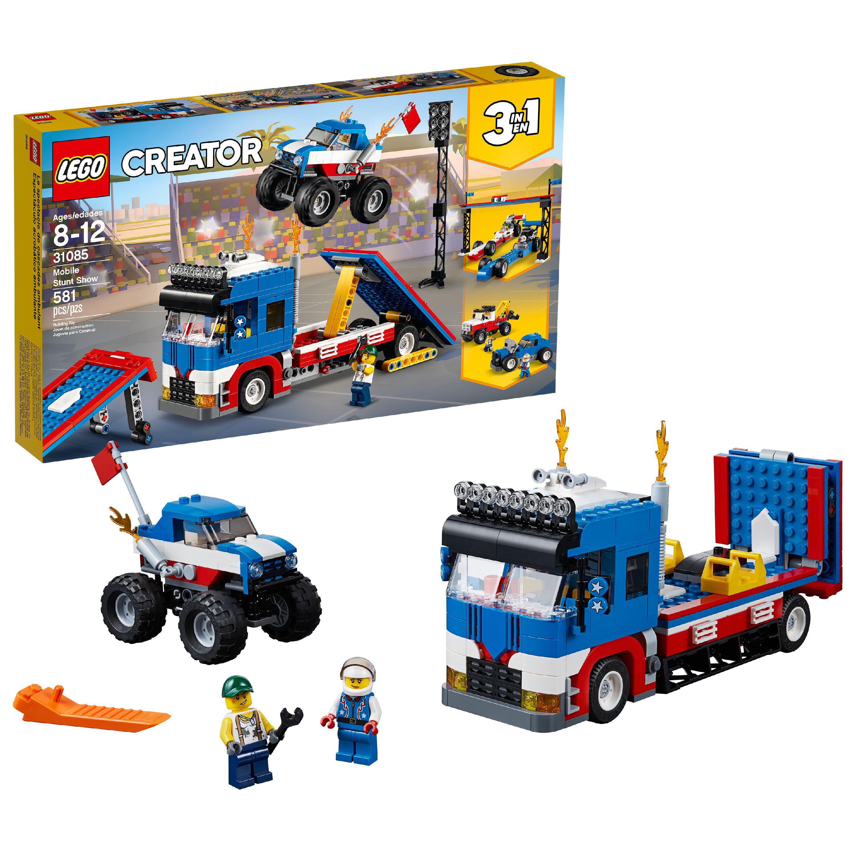LEGO Creator 3in1 Mobile Stunt Show 31085 (581 Pieces