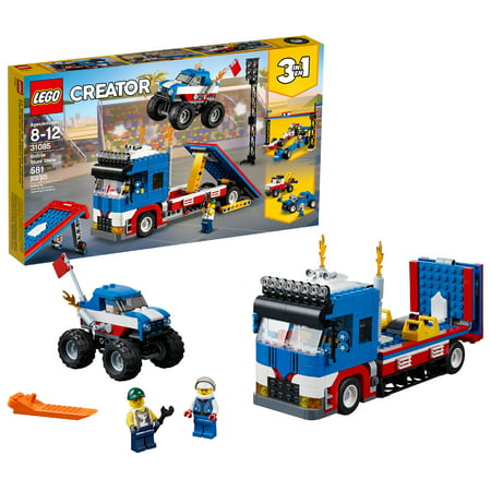 LEGO Creator 3in1 Mobile Stunt Show 31085 (581 Pieces)