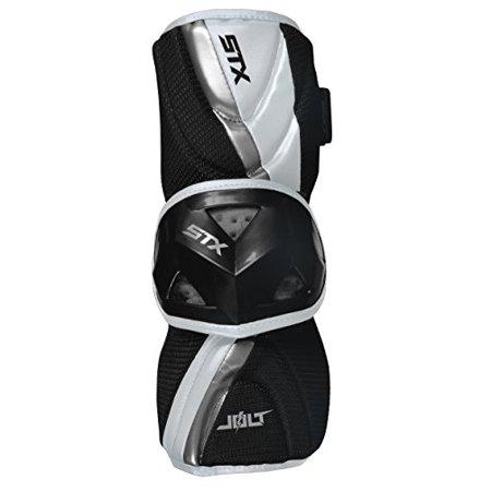 Trace Foam Arm Guard - STX Lacrosse Jolt Arm Guard Medium White
