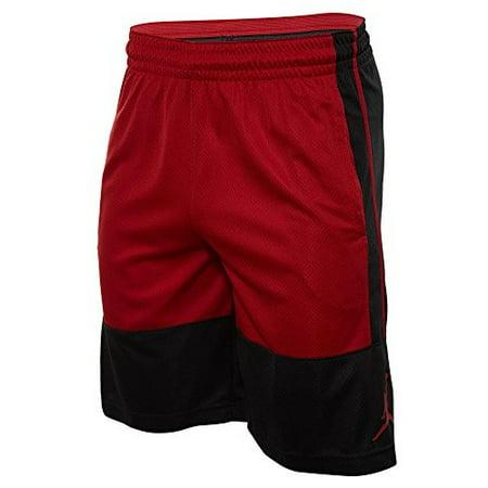 ed3ef63c146850 Nike mens RISE SOLID SHORT 889606-010 S - BLACK GYM RED GYM RED -  Walmart.com