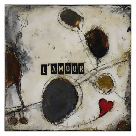 ArtMaison Canada French Word Meaning Love Wall Art (French Canada)