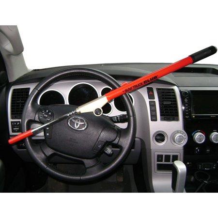 The SUV  Truck Club Steering Wheel Lock Red  Walmartcom