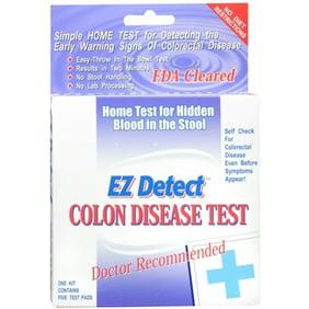 Second Generation Fita At Home Colon Cancer Test 1 Pack Walmart Com Walmart Com