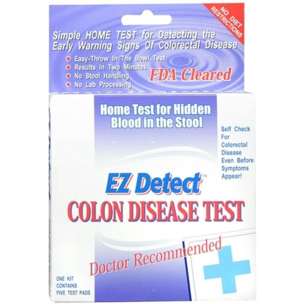 Ez Detect Colon Disease Test Walmart Com Walmart Com