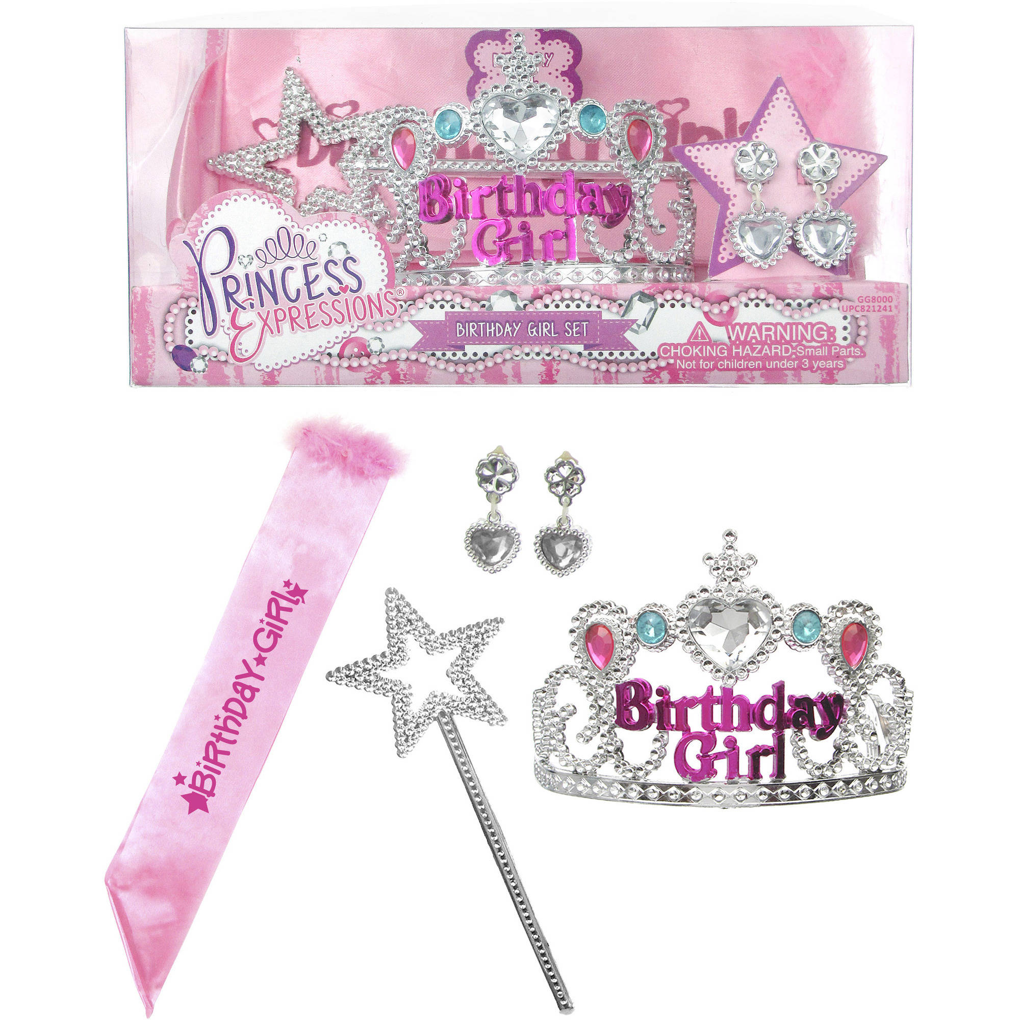 Pink Birthday Girl Set