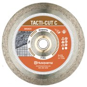 Husqvarna Tacti-Cut Dri Disc 4-1/2 in. Dia. x 7/8 in. Continuous Rim Diamond Saw Blade 1 pk