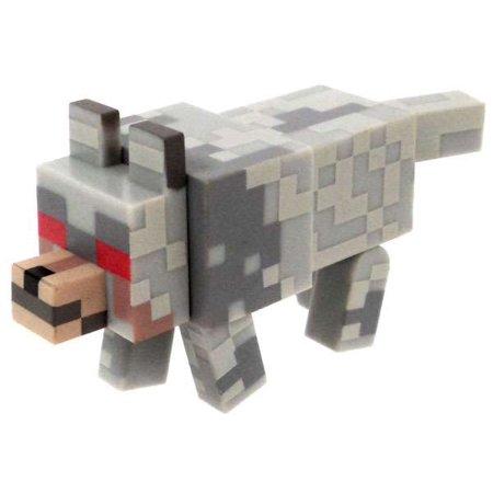 Minecraft Hostile Wolf Figure [No Packaging]](White Wolf Minecraft Skin)