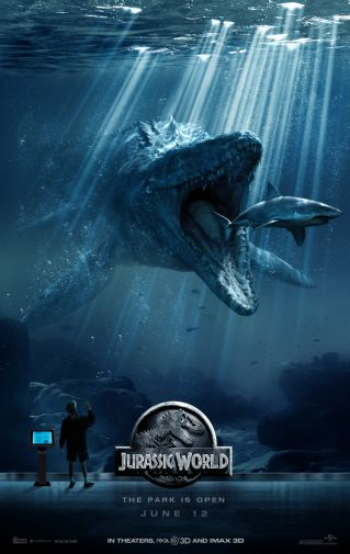 Jurassic World Movie Mini poster 11inx17in by