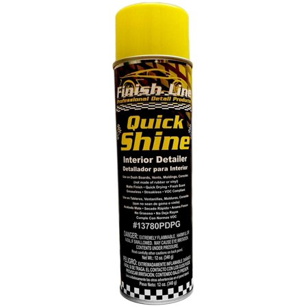 Professional Detailers (Quick Shine - Professional Auto Interior Detailer, Matte Finish By Finish Line )