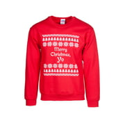 Mens Merry Christmas Yo Ugly Sweater