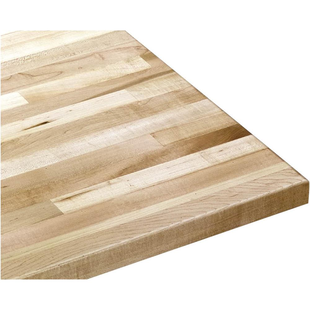 "Grizzly G9912 Solid Maple Workbench Top 36"" Wide x 24"" Deep x 1-3 4"" Thick by"