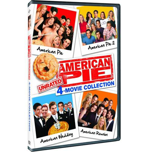 American Pie Unrated Collection: American Pie   American Pie 2   American Reunion   American Wedding (With... by Universal