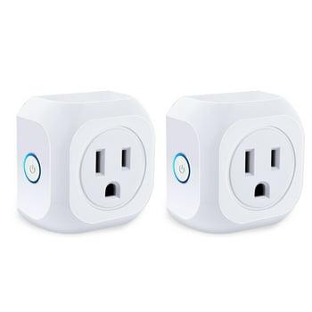 2-Pack Kootion Wifi Smart Plug Mini Outlets