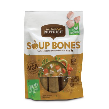 (Rachael Ray Nutrish Soup Bones Dog Treats, Chicken & Veggies Flavor, 12.6oz)