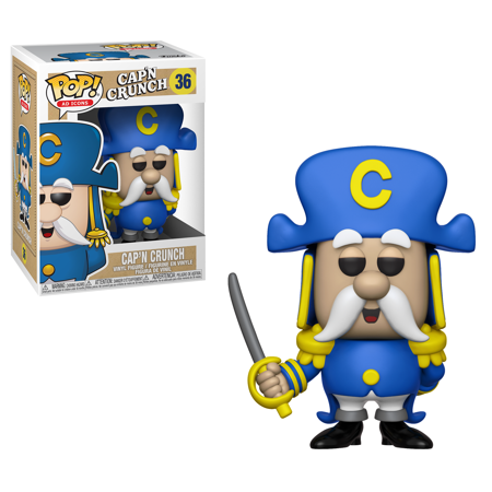 Funko POP! Ad Icon: Quaker Oats- Cap'n Crunch w/ Sword