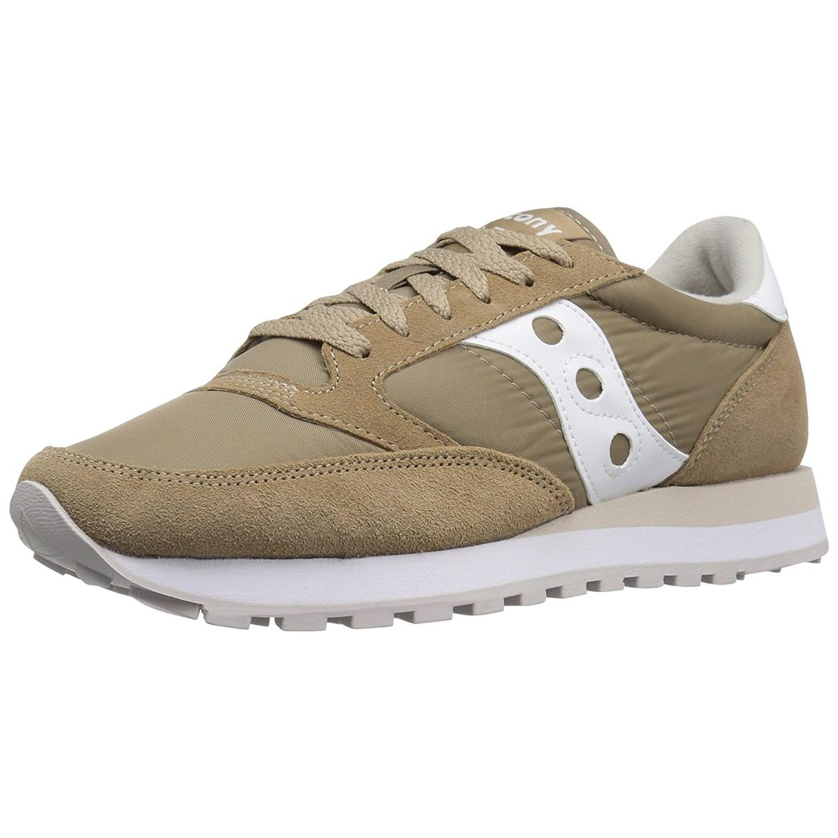 Saucony Jazz Original Mens Tan White Sneakers by Saucony