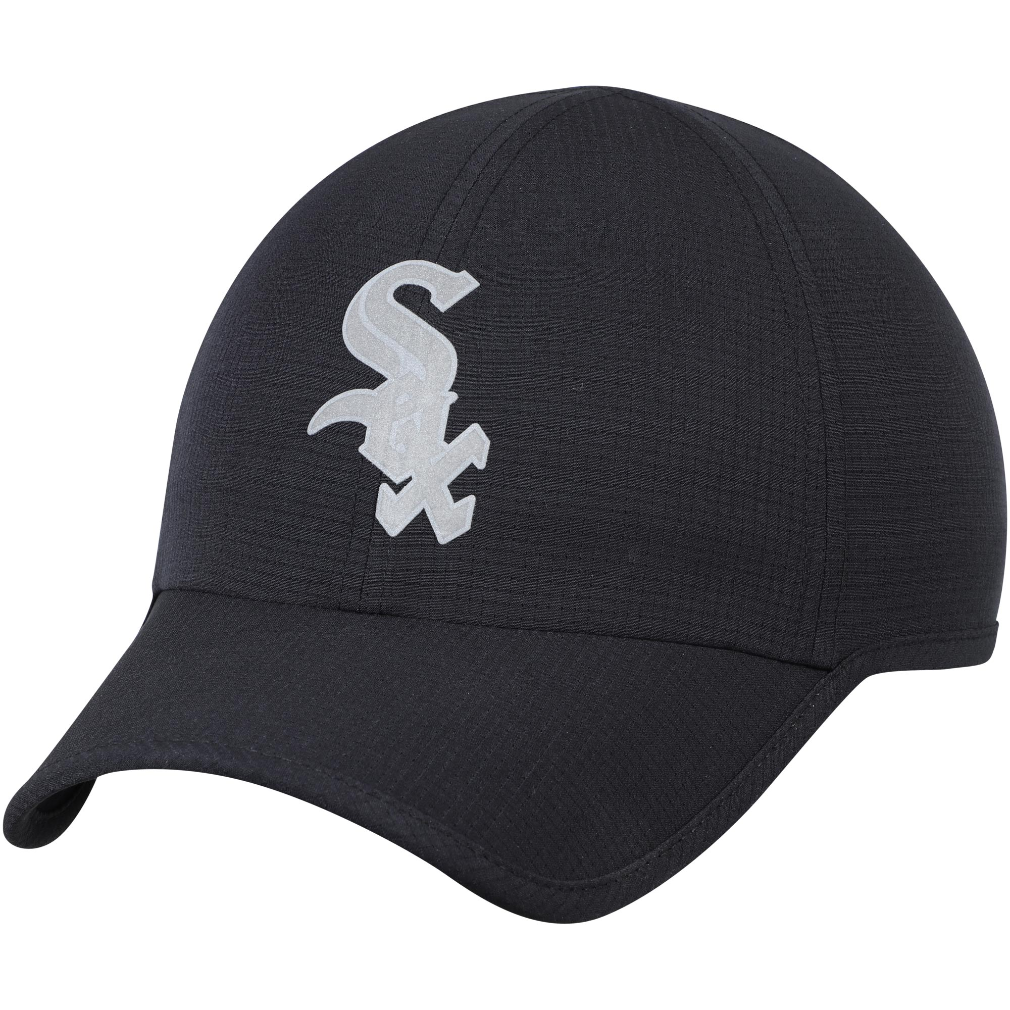 Chicago White Sox Under Armour MLB Shadow Airvent Adjustable Hat - Black - OSFA