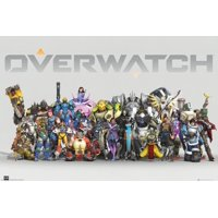 """Overwatch - Gaming Poster / Print (Anniversary Character Line-Up) (Size: 36"""" x 24"""")"""