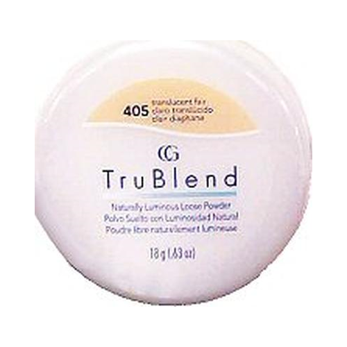 CoverGirl Trublend Minerals Loose Powder,  Translucent Fair 405,  0.63-Ounce