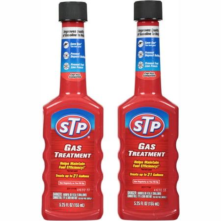 (2 Pack) STP Gas Treatment, 5.25 fluid ounces, 2 pack,